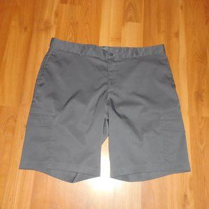Men's Nike Golf Gray Dri Fit Shorts 38